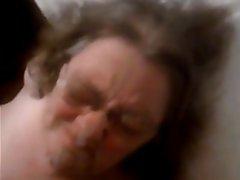Cumshot, Facial, Granny