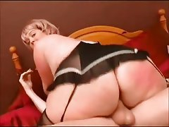 BBW, Big Butts, Blonde, British, Mature