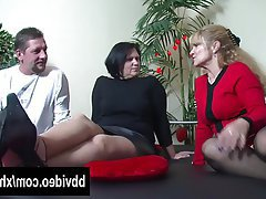 BBW, German, Hardcore, Mature, Threesome