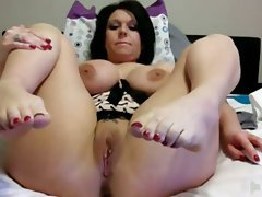 Amateur, Big Boobs, Foot Fetish, Mature, Webcam