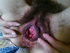 Amateur, Close Up, Creampie, Hairy