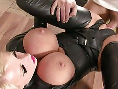 Anal, Big Boobs, British, MILF, Strapon