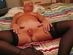 Amateur, Big Boobs, Blonde, Granny