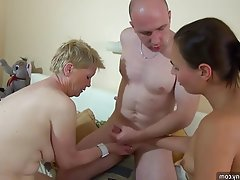 Granny, Masturbation, Mature, Old and Young